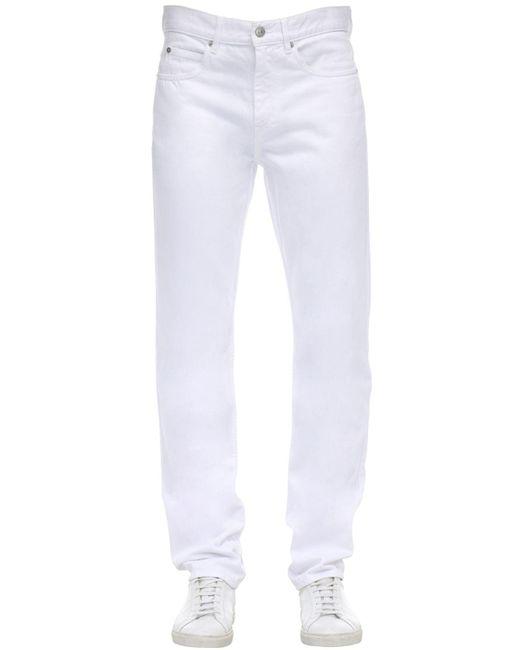 メンズ Isabel Marant コットンデニムジーンズ White