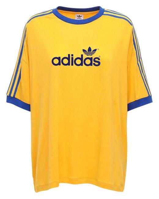Adidas Originals 70s 3 Stripes ジャージーtシャツ Multicolor