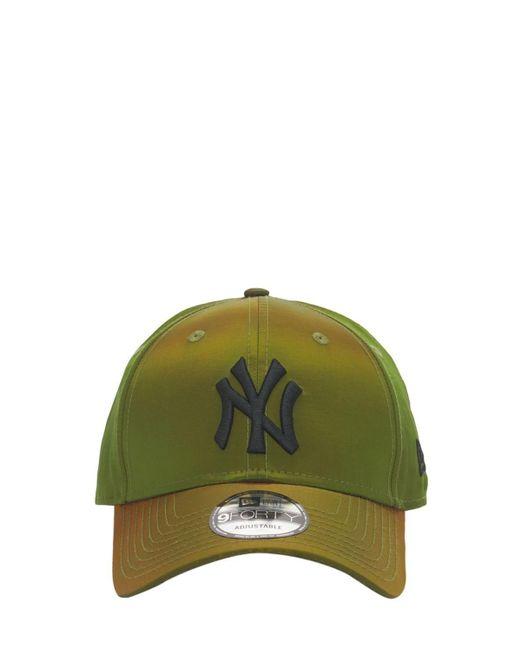 メンズ KTZ Hypertone 9forty New York Yankees キャップ Green