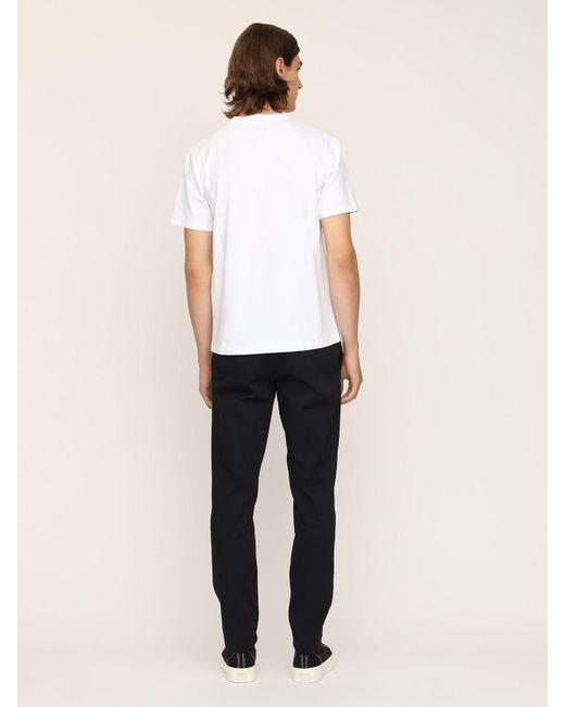 メンズ Paco Rabanne コットンtシャツ White