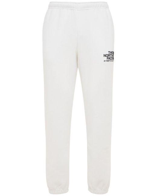 メンズ The North Face Coordinates コットンブレンドスウェットパンツ White