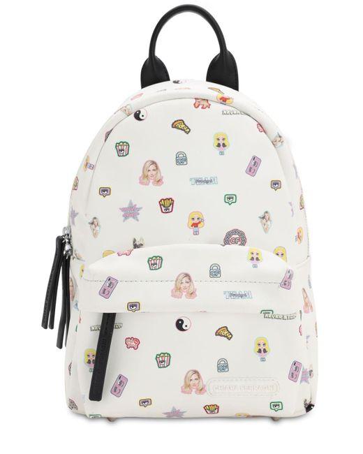Рюкзак Из Нейлона Chiara Ferragni, цвет: Multicolor