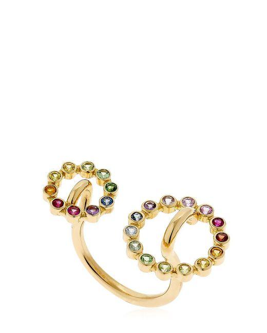 Charlotte Chesnais - Metallic Gold System Ring - Lyst