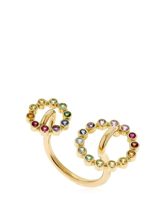 Charlotte Chesnais - Metallic Gold System Ring - Lyst