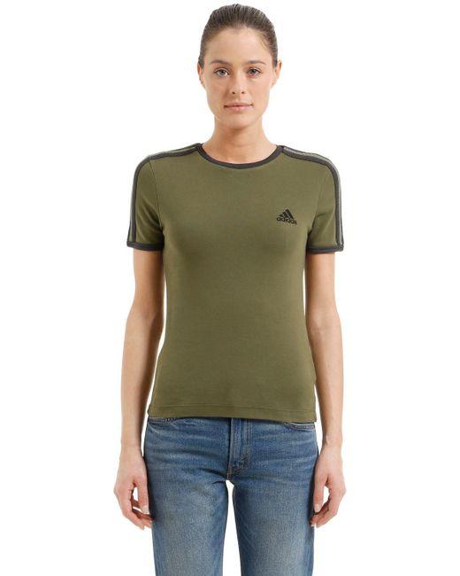 Yeezy Baby Fit コットンジャージーtシャツ Green
