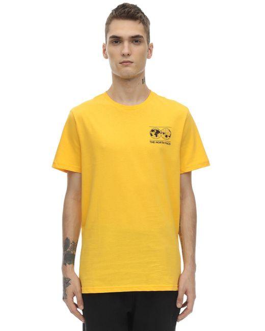 メンズ The North Face 7 Se ジャージーtシャツ Yellow
