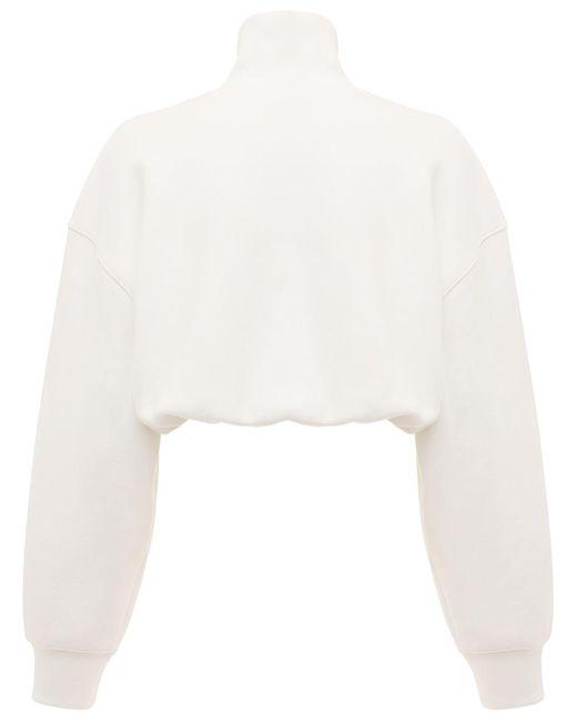 Alexander Wang コットンスウェットシャツ White