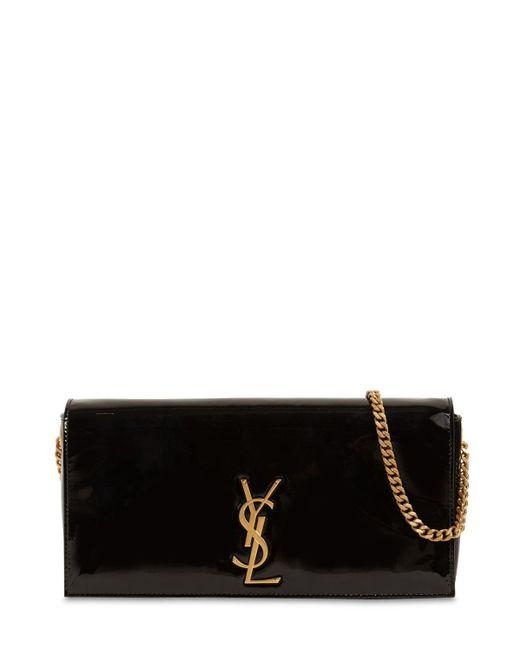 Сумка Из Лаковой Кожи Kate 99 Saint Laurent, цвет: Black