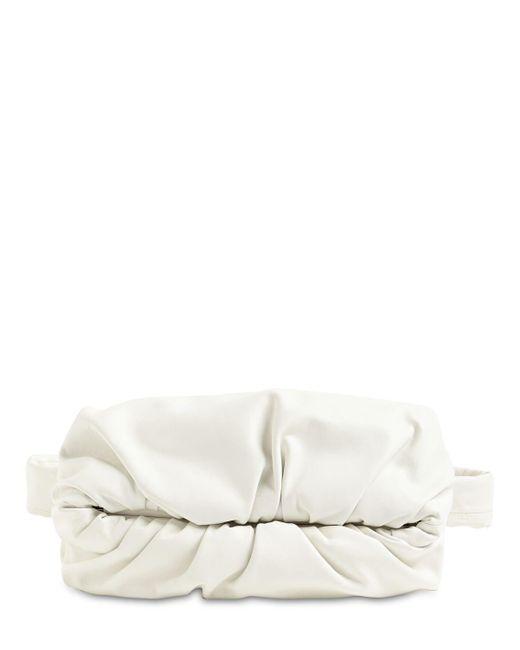 Кожаная Сумка На Пояс Bottega Veneta для него, цвет: White