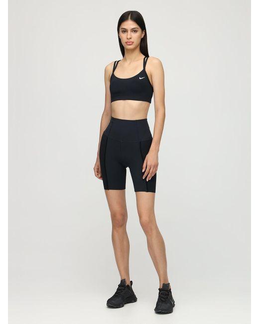 Спортивный Бюстгальтер С Лёгкой Поддержкой Nike, цвет: Black