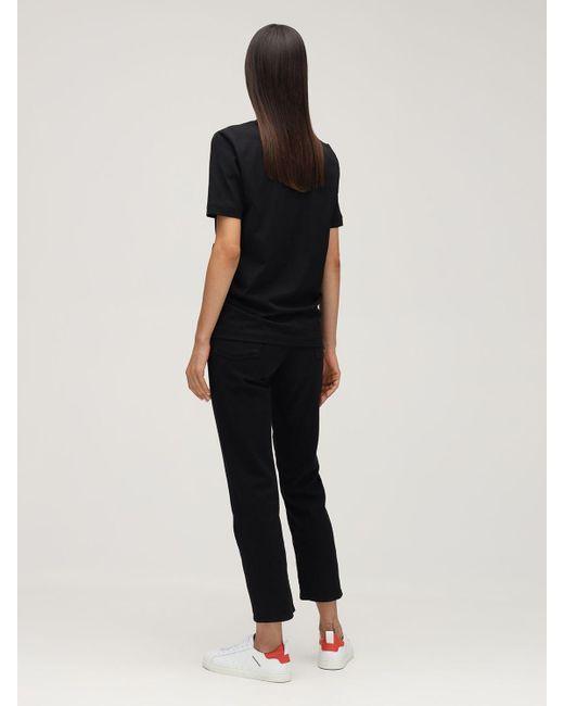 DSquared² Renny Fit Dsq 9520 ジャージーtシャツ Black