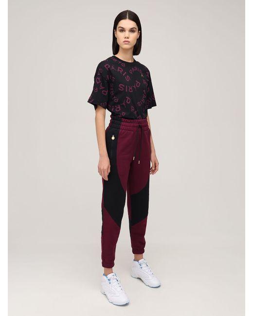 Nike Jordan Psg コットンブレンドスウェットパンツ Red