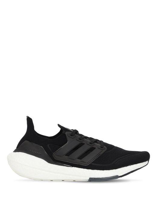 メンズ Adidas Originals Ultraboost 21 Primeblue スニーカー Black