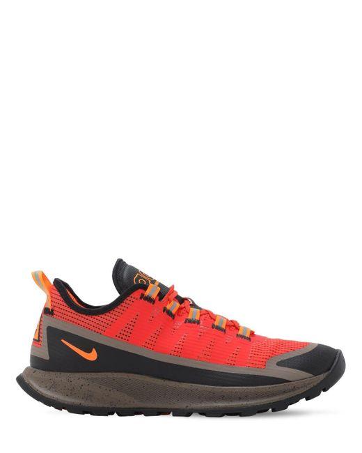 Кроссовки Acg Air Nasu Nike для него, цвет: Red