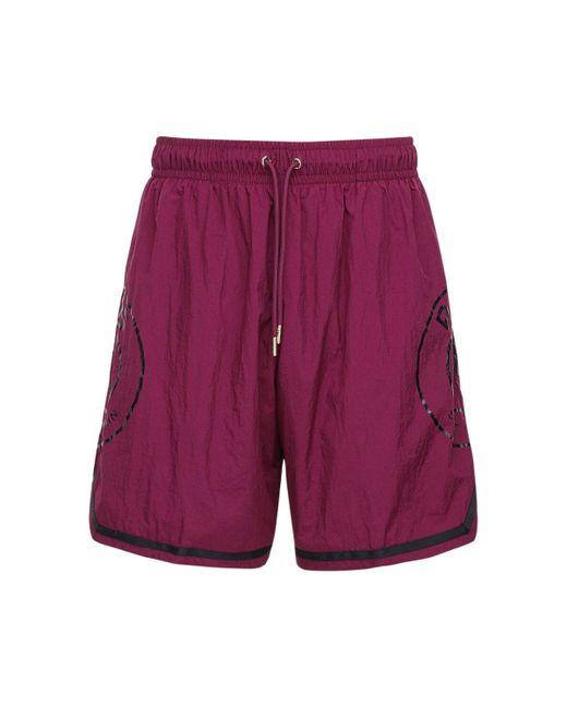 メンズ Nike Jordan Psg Basketball ナイロンハーフパンツ Purple