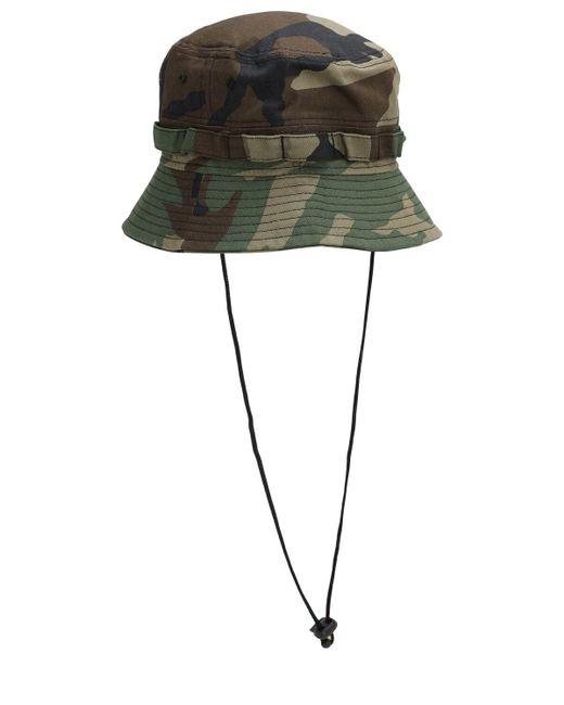 KTZ Explorer コットン 迷彩バケツ帽 Green