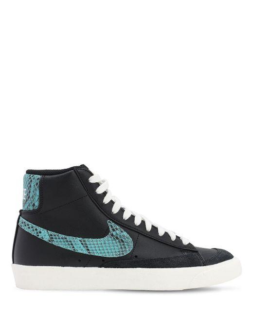 Кроссовки Blazer Mid '77 Vntg Nike для него, цвет: Black