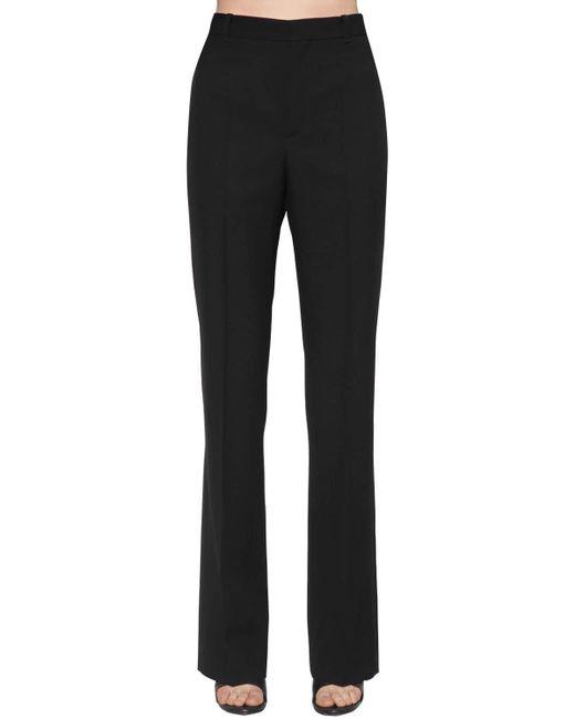 Balenciaga ウールギャバジンパンツ Black