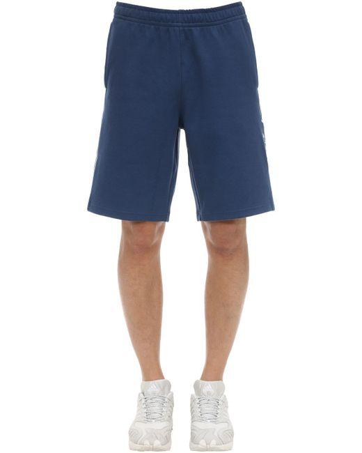 メンズ Adidas Originals スウェットハーフパンツ Blue
