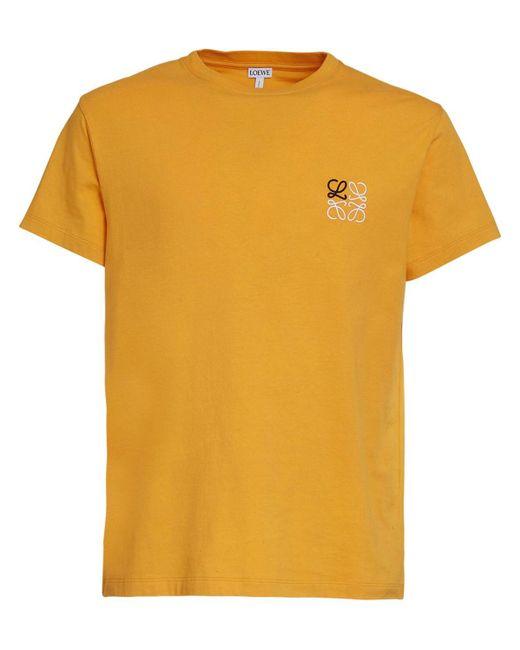 メンズ Loewe コットンジャージーtシャツ Orange