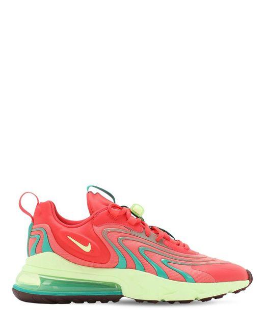 Кроссовки Air Max 270 React Eng Nike для него, цвет: Red