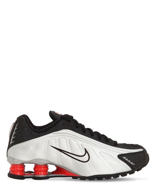 "Кроссовки ""shox R4"" Nike, цвет: Black"
