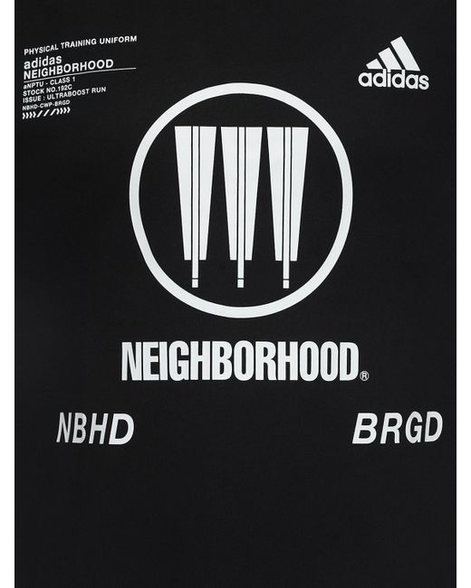 メンズ Adidas Originals Nbhd Tシャツ Black
