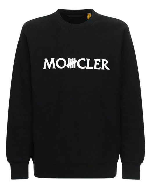 メンズ Moncler Genius Undefeated コットンスウェットシャツ Black