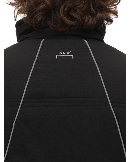 メンズ A_COLD_WALL* テクノパファージャケット Black