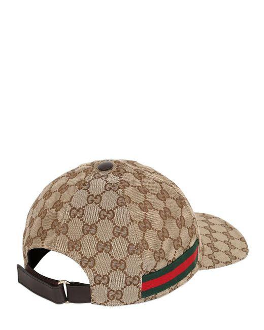 Gucci Cap GG ORIGINAL in Natural für Herren