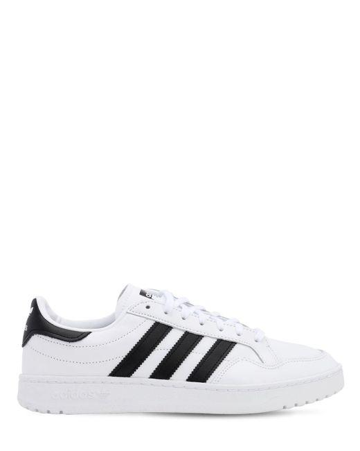 """adidas Originals Sneakers """"Modern 80 Eur Court"""" De Piel de hombre de color blanco"""