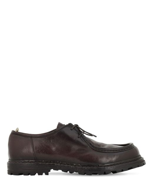 Officine Creative Multicolor 25mm Leather Lace-up Shoes for men