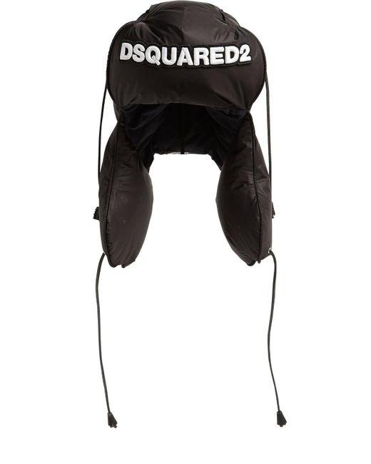 DSquared² ロゴハット Black