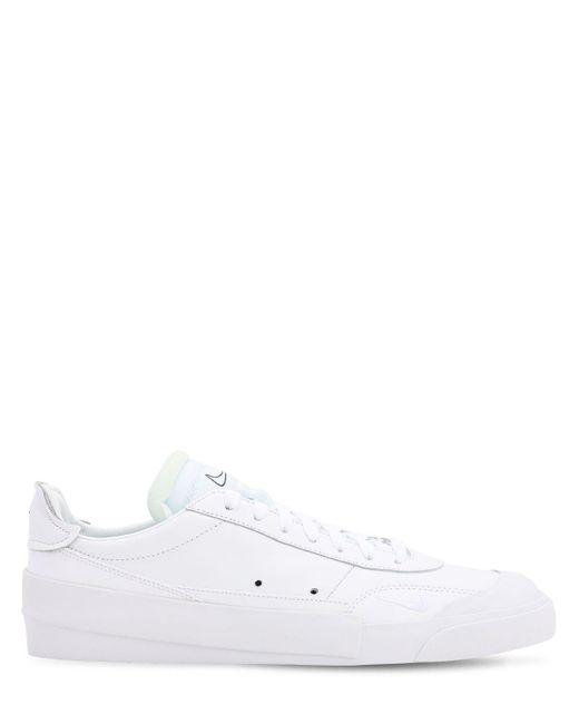 """メンズ Nike """" Drop-type Prm"""" スニーカー White"""