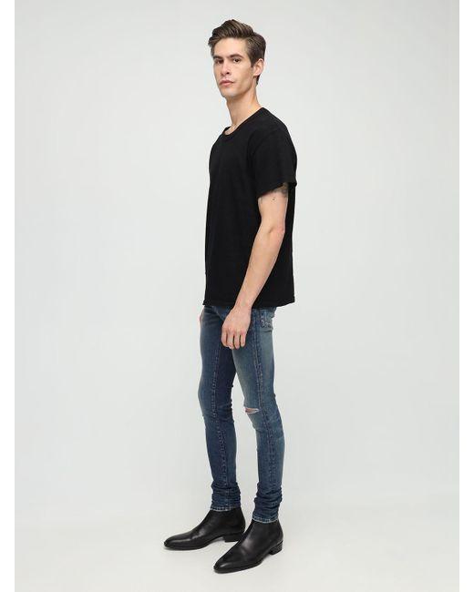 メンズ Amiri コットンtシャツ Black