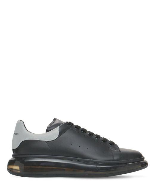 Кожаные Кроссовки Air Reflect 45mm Alexander McQueen для него, цвет: Black