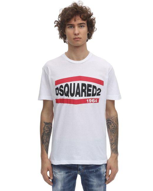 メンズ DSquared² Cool Guyコットンジャージーtシャツ Black