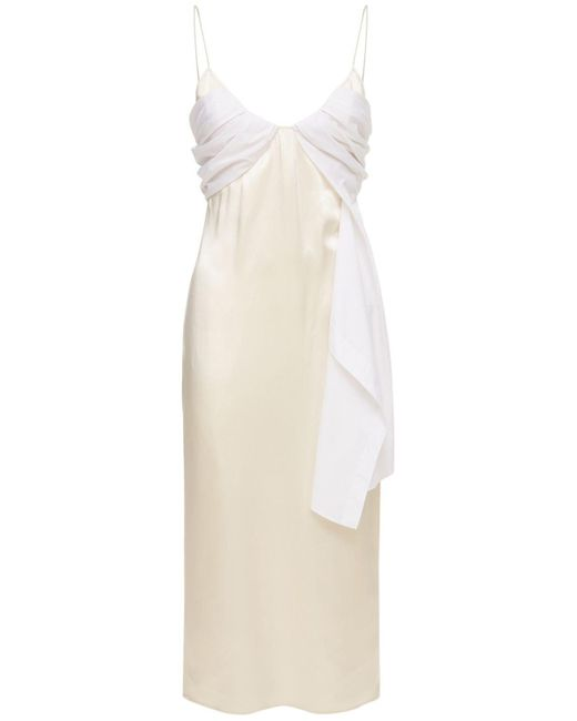 1017 ALYX 9SM Foulard フォーマルサテンドレス White