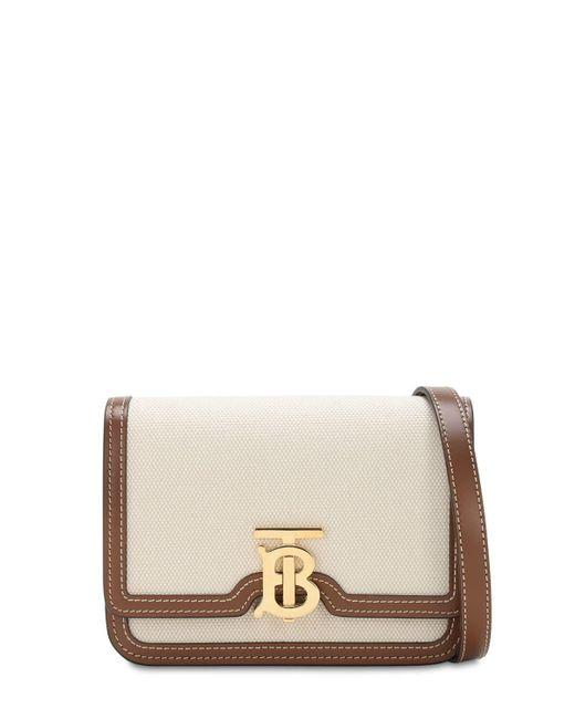 """Кожаная Сумка """"tb"""" Burberry, цвет: Brown"""