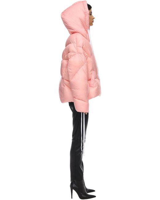 Khrisjoy フード付きダウンジャケット Pink