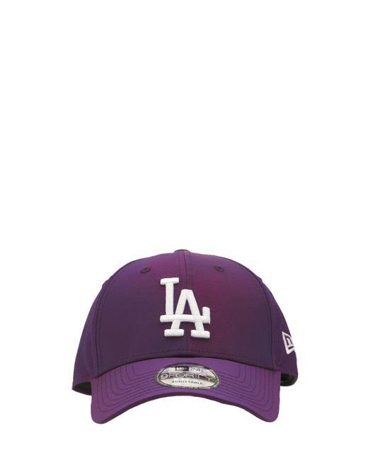 メンズ KTZ Hypertone La Dodgers 9forty キャップ Purple