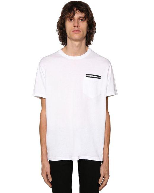 メンズ Givenchy コットンtシャツ White