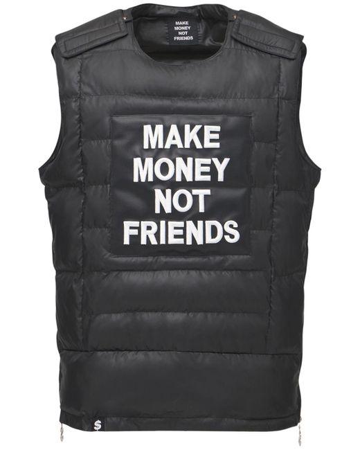 """Жилет """"bulletproof"""" MAKE MONEY NOT FRIENDS для него, цвет: Black"""