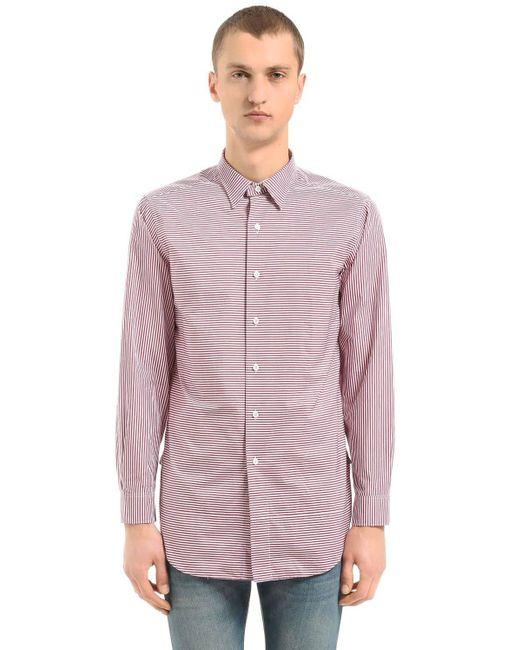 メンズ Kent & Curwen Horley コットンチュニックシャツ Red