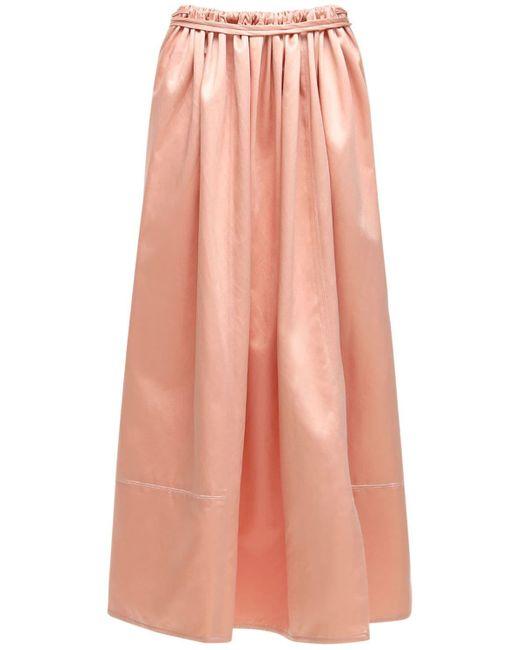 Юбка Из Хлопка Marni, цвет: Pink