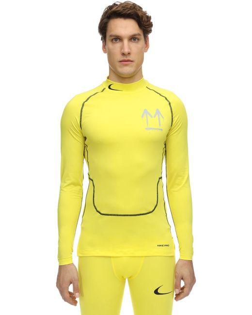メンズ Nike Off-white M Nrg Ru Pro トップ Yellow