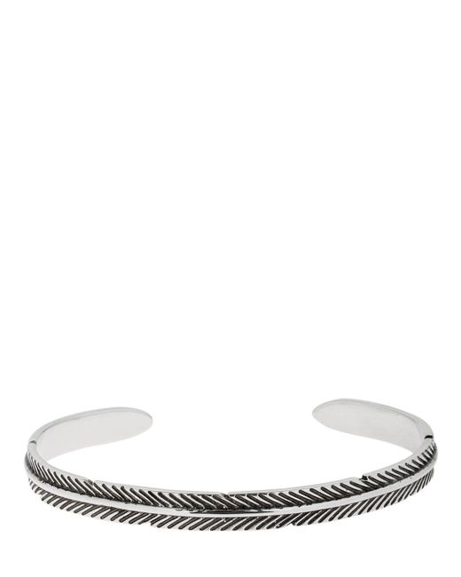 Philippe Audibert - Metallic Ahe Thin Bracelet for Men - Lyst
