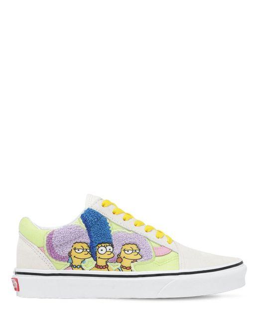 メンズ Vans The Simpsons Old Skool スニーカー Multicolor