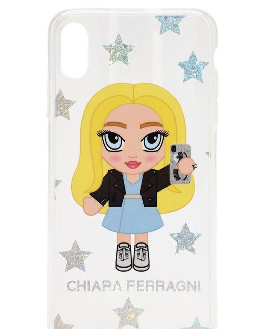 Chiara Ferragni Iphone Xs Max ケース White