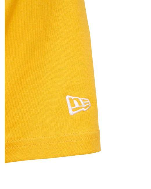 Футболка С Логотипом Mlb Seasonal Ny Yankees KTZ для него, цвет: Yellow